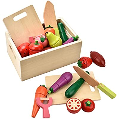 Cheap Carlorbo Wooden Toys For 3 Year Olds Magnetic Pretend