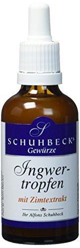 Schuhbecks Ingwertropfen mit Zimt, 1er Pack (1 x 50 g)