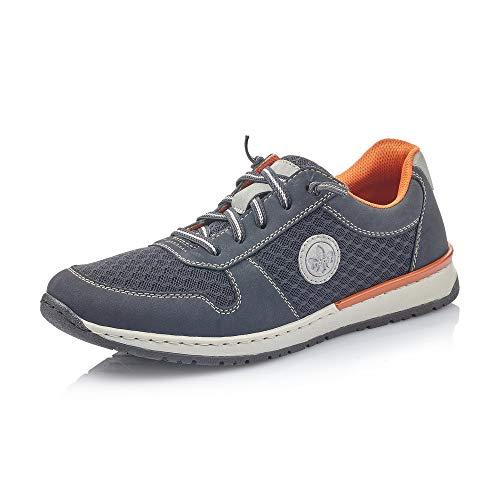 Rieker Hombre Zapatos de Cordones B5133, de Caballero Calzado Deportivo,Calzado,Calzado de Exterior,Deportivo,Ocio,Pazifik,41 EU / 7,5 UK