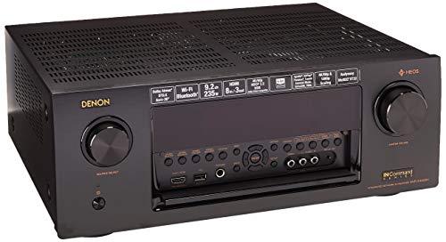 Denon AVR-X4400H 9.2CH High Power 4K Ultra HD AV Receiver Cutting Edge Home Theater with HEOS and Amazon Alexa Voice Control - Black