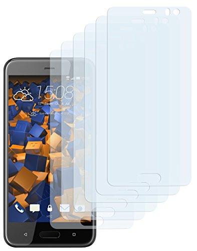 mumbi Schutzfolie kompatibel mit HTC U11 Life Folie klar, Bildschirmschutzfolie (6X)