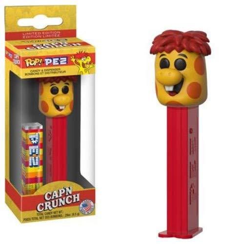 Cap'n Crunch Crunchberry Monster Pop! Pez Candy & Dispenser