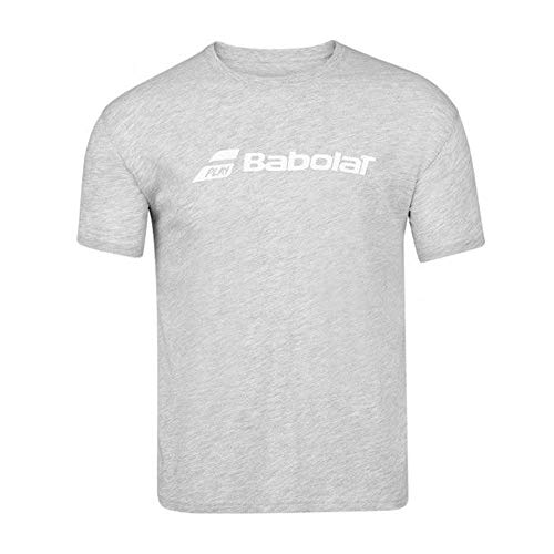 Babolat Herren Trainings-T-Shirt mit Rundhalsausschnitt, Herren, Heather, Medium