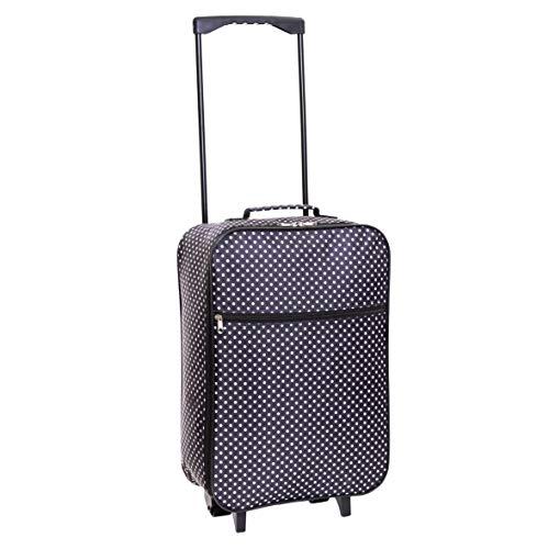Slimbridge Barcelona bagaglio leggero a mano, Nero Pois