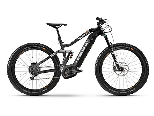 HAIBIKE Xduro Nduro 6.0 27.5'' Pedelec E-Bike MTB grau/schwarz 2019: Größe: S
