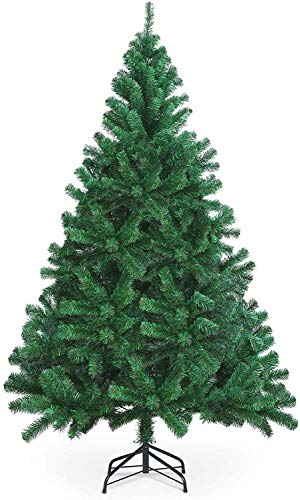 DHTOMC Christmas tree 300cm 10ft artificial Christmas tree for indoor and outdoor light and fluffy Christmas tree for Christmas decoration with stand easy assembly Christmas tree ornaments Xping