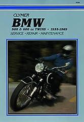 1955 - 1969 BMW 500 & 600cc Twins Repair, Service & Maintenance Manual by Clymer