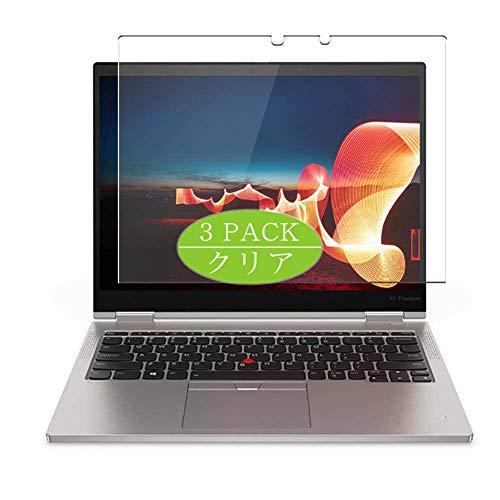 VacFun 3 Piezas Claro Protector de Pantalla, compatible con Lenovo ThinkPad X1 Titanium Yoga 13.5', Screen Protector Película Protectora(Not Cristal Templado)