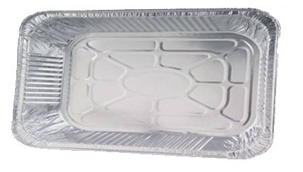 HB Aluminum Pan Full Size Steam Table Foil Pan -Disposable Pan (Case of 50)
