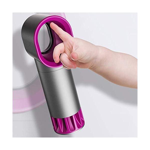 Ventilador-sin-Cuchilla-de-Carga-USB-porttil-de-Mano-Estudiante-de-Escritorio-Recargable-Mini-Ventilador-Verano-FEOPW-Color-White-Size-168-54-51mm
