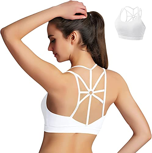 HBselect Sujetador Deportivo Mujer Material Cómodo Suave para Gimnasio Yoga Bailar