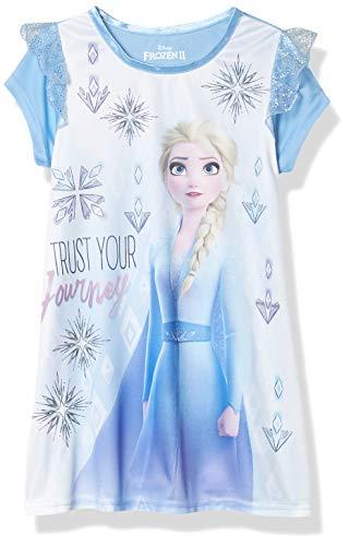 Disney Girls' Frozen Nightgown, Elsa Journey, 3T