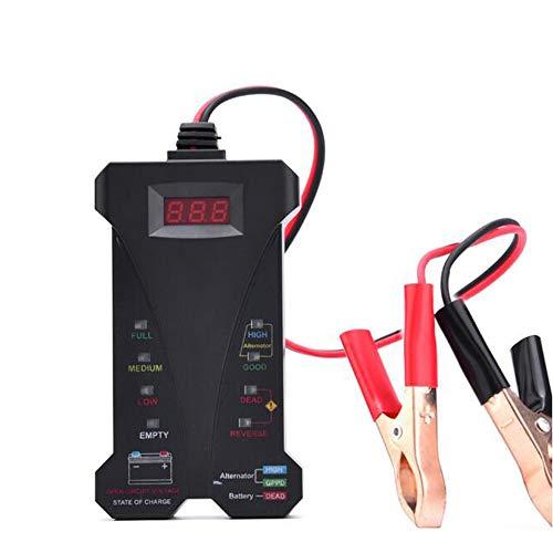 Lowest Price! Battery Tester Car Fault Diagnosis Instrument Digital Display Battery Tester 12V LED