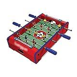 ZHSHZQ Fútbol de la Tabla - de Madera Futbolín Máquina de niños de Juguete de Escritorio Boy (51 * 31 * 9,6 cm) (Color : Red)