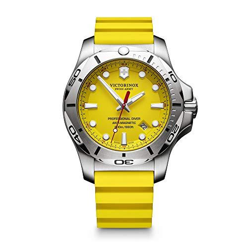 Victorinox Swiss Army Unisex Analog Quarz Uhr mit Kautschuk Armband 241735