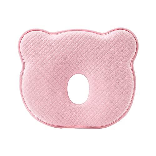 muskmelon Almohada para Bebes Recien Nacidos Cojín para Bebé para Prevención de Plagiocefalia Soporte Para el Cuello para Utilizar en Cama Cochecito Mecedora (PK)