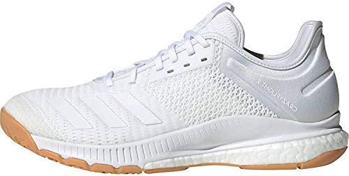 adidas Damen Crazyflight X 3 Volleyballschuhe, Mehrfarbig (Ftwbla/Ftwbla/Gumm1 000), 49 1/3 EU