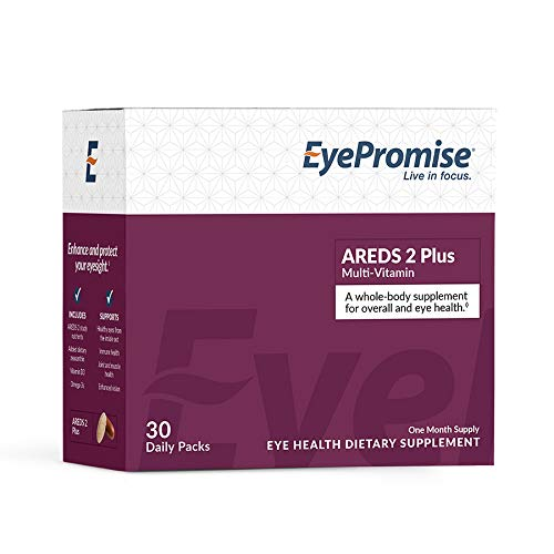 EyePromise AREDS 2 Plus with a Multi-Vitamin - Comprehensive Macular Health Eye Vitamin
