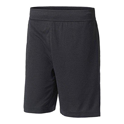 Pantalones cortos Adidas Climachill, de tenis para hombre - B45842, 2XLS, Negro (Chill Black Melange)