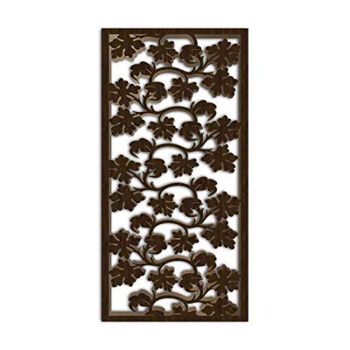 Great Deal! NISH! Decorative Carved MDF Wood Wall Panels for Room Partition, Screen, Divider, Door, ...