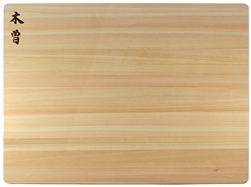 Kiso Hinoki Cutting Boards, Made in Japan, Authentic Japanese Cypress, 24 x 18 x 1.5 Inch