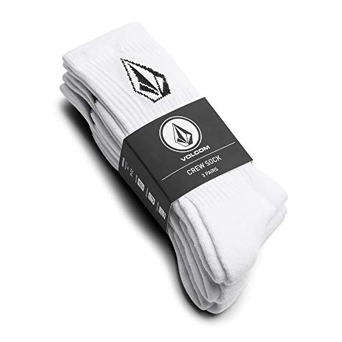 Volcom - Full Stone (3Pack) - Calcetines Hombre - Blanco