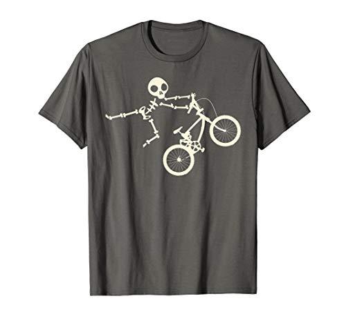 Skeleton BMX Shirt | Cool Hard Core Cyclists T-shirt Gift
