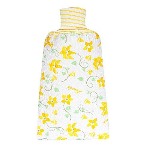 2 morceaux épaissir la flore gants exfoliant corps gants de bain gants de douche