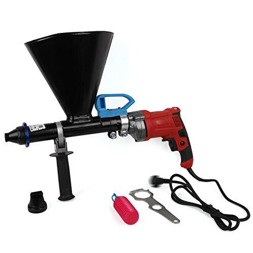 Aohuada Pistola eléctrica de mortero para mortero, accesorio para bomba de mortero...