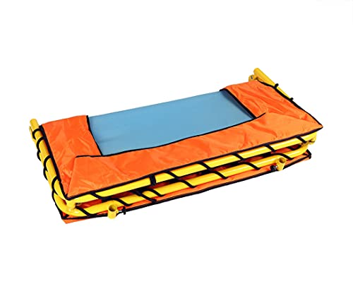 Foldable Fitness Trampoline Kids Junior Indoor Outdoor Jumper Rebounder Toys With Stability Bar