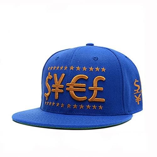 YIERJIU Gorra Gorras Beisbol Gorra Rosa Give Me Money Hip Hop Snapback Hat para Hombres, Mujeres, Adultos, al Aire Libre, Casual, Sol, Gorra de béisbol,F