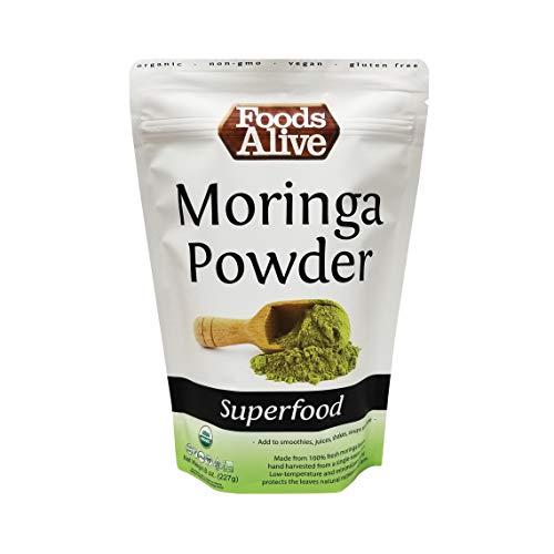 Moringa Powder, Organic, 8oz