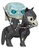 Funko - Pop! Rides: Game of Thrones S10 - White Walker on Horse Figura...