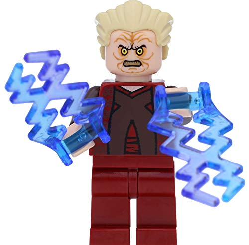 LEGO Star Wars - Minifigura del Canciller Palpatine (episodio 3) con flash y espada láser