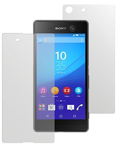 dipos I 6X Schutzfolie matt kompatibel mit Sony Xperia M5 Folie Bildschirmschutzfolie (3X Vorder- und 3X Rückseite)