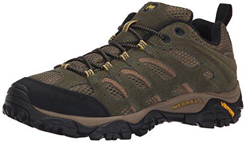 Merrell Herren Moab Ventilator Schuhe mit niedrigem Anstieg, Grün (Olive), 43.5 EU