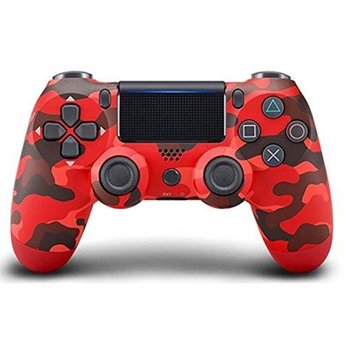Quskto Classique Gamepad contrôleur de Jeu sans Fil Bluetooth for Les Ordinateurs Portables Haute sensibilité et Plus Confortable (Color : Red, Size : 16.2x5.2x9.8cm)