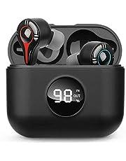 Bluetooth イヤホン 充電ケース付き TWS 完全ワイヤレス自動ペアリング 両耳左右分離型Bluetooth イ