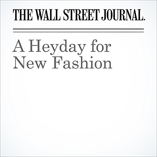 A Heyday for New Fashion audiobook cover art