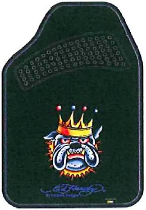 Ed Hardy Bulldog Floor Mat Front 2pc Cheap mail At the price order sales