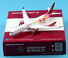 Diecast metal aircraft model plane Model measures, Lenght:15.79CM, Wingspan:14.70CM,Tail Height:4.23CM Limited Edition,collectible model,Recommended Age Range:Ages 14+ Diecast metal aircraft model with landing gear and not stand 1:400 Scale;Ready for...