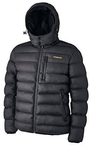 Stanley 98137 Irvine - Plumífero con capucha (talla L), color negro