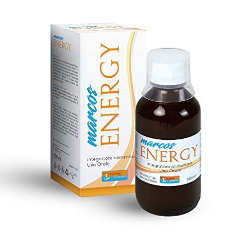 MARCOS ENERGY |Vitamine per Bambini | Integratore Alimentare Multivitaminico |Sciroppo Difese...