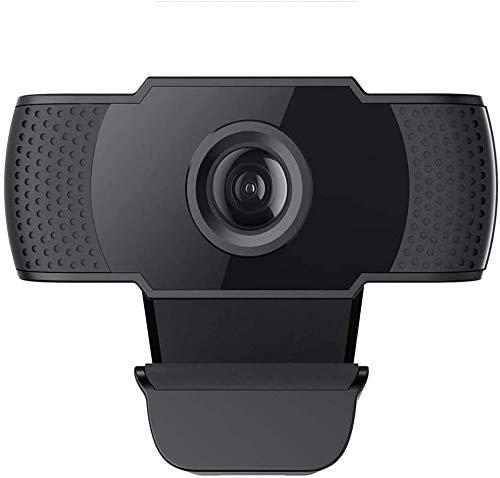 Licyley Cámara Web Full HD 1080P con micrófono, computadora portátil PC USB Webcam de Escritorio para videollamadas, Estudios, conferencias, grabación, Juegos con Clip Giratorio