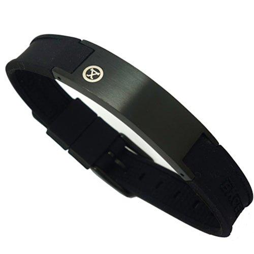 ProExl Magnetisches Golfarmband mit Schachtel, schwarz matt