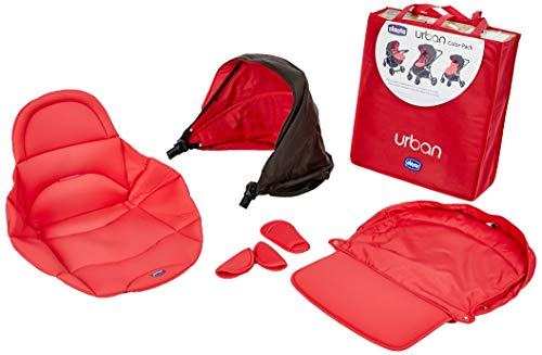 Chicco Colour Pack Urban Stroller Kit Passeggino, Rosso