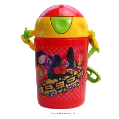 GOGOs Crazy Bones Pop Up Drinks Bottle