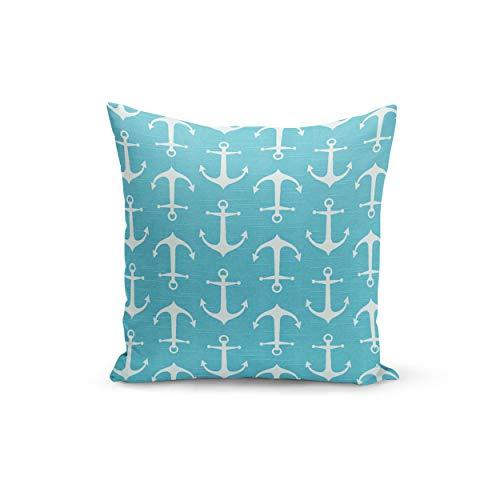 Ad4ssdu4 blauwe kussensloop Premier Prints zeeman kust blauwe kussenslopen onder onzichtbare ritssluiting