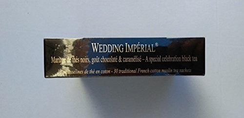 Mariage Frères - WEDDING IMPÉRIAL - Boîte de 30 sachets mousseline de thé