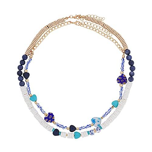 Parfois - Collar Santorini - Mujeres - Tallas Única - Azul